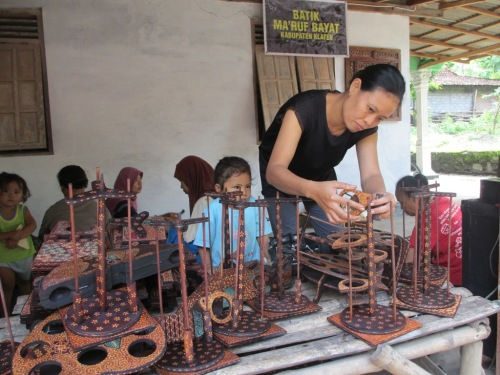 batik kayu Bayat Klaten